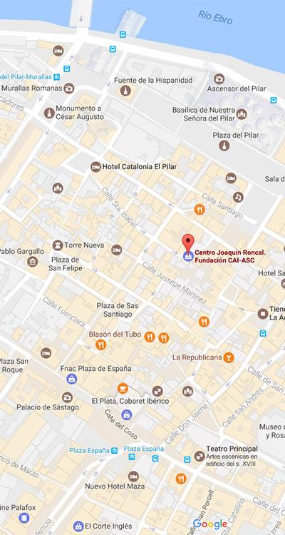 Plano De Ubicacion Y Horario Joaquin Roncal